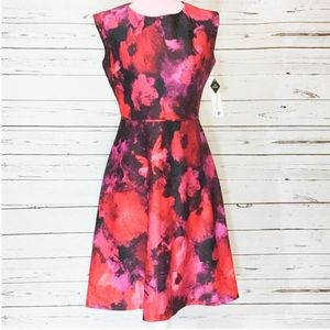 Studio One Floral Professional Cocktail Dress NWT